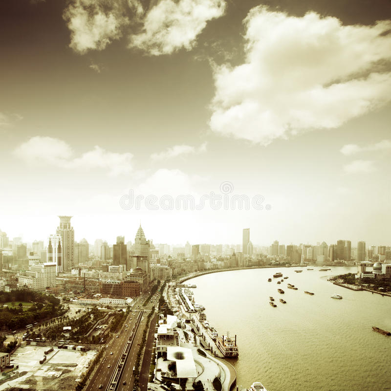 Free Scene Of Shanghai Royalty Free Stock Image - 20577296