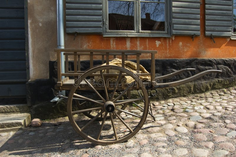 Download Scene From Old Swedish Life Stock Image - Image: 9225823