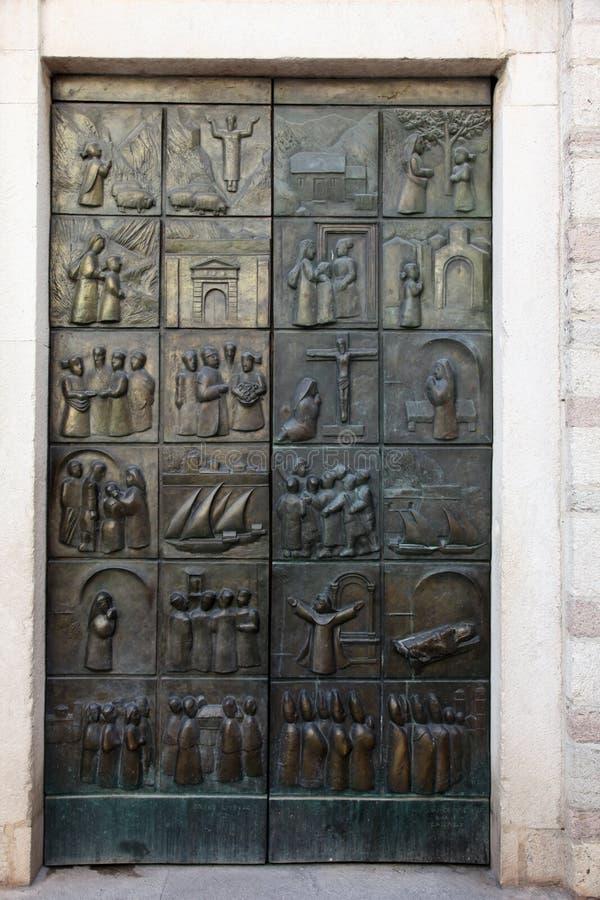 Scene a partire dalla durata Blessed Osanna di Cattaro immagine stock libera da diritti