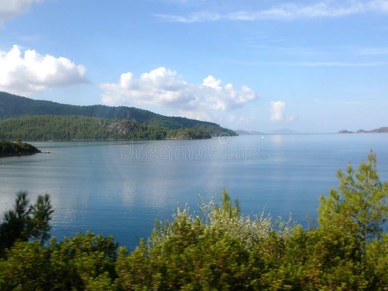 Sceneria morze egejskie obraz royalty free
