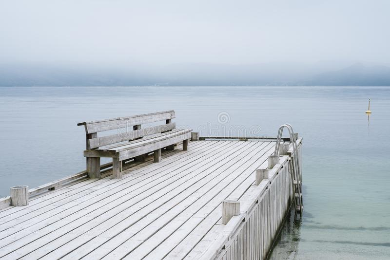 Sceneria Norwegia z widokiem fjord zdjęcia stock