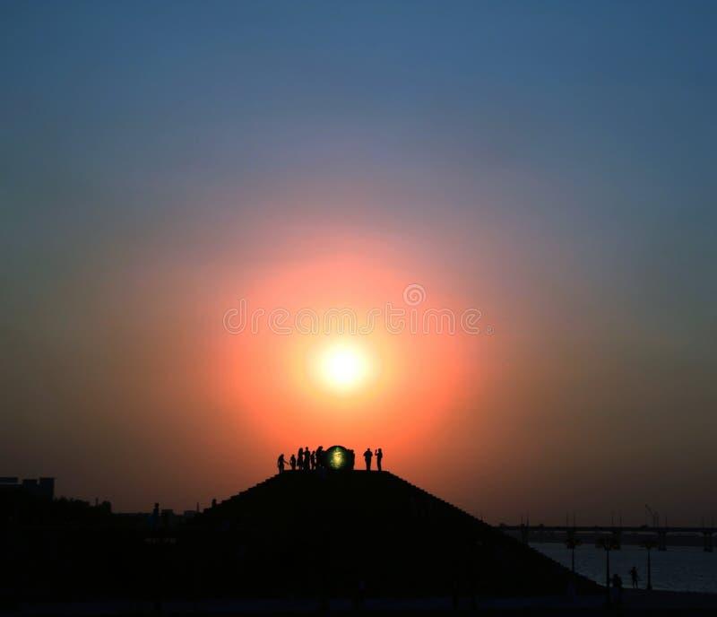 sceneria słońca zdjęcia royalty free
