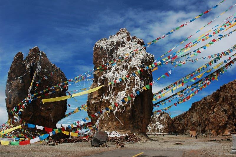 sceneria Tibet zdjęcie stock