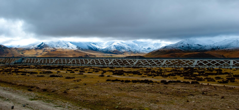 sceneria Tibet fotografia royalty free