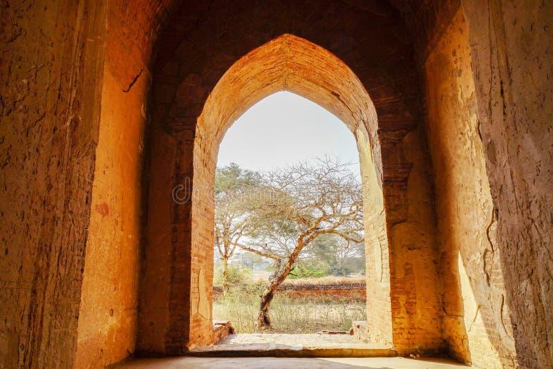 Sceneria w Bagan, Myanmar obrazy royalty free