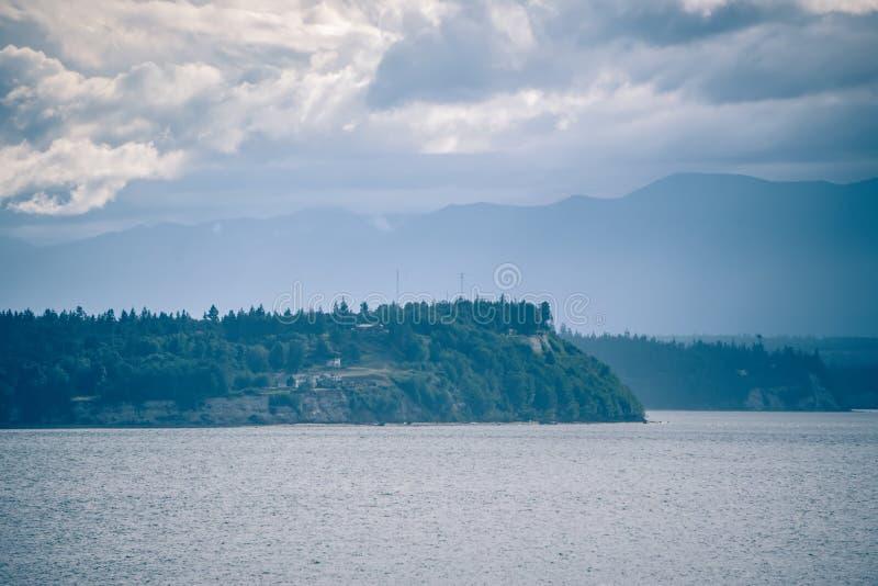 Scenery around ketchikan alaska wilderness royalty free stock images