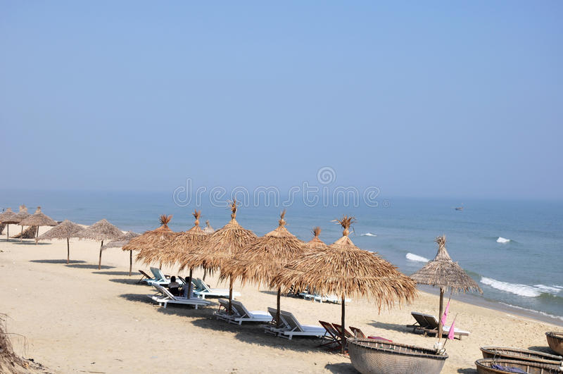 Scenery on beach royalty free stock image