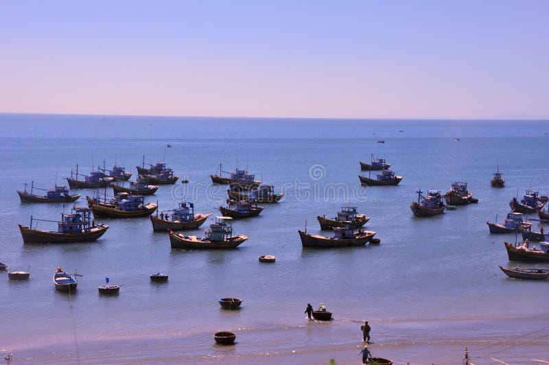 Scenery on beach,Vietnam royalty free stock photography