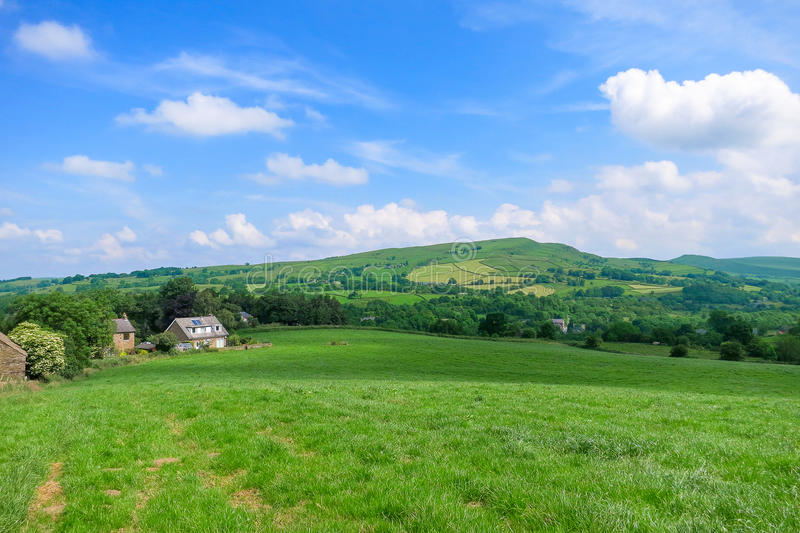 Scenery in Bridgnorth. Shropshire, United Kingdom stock image