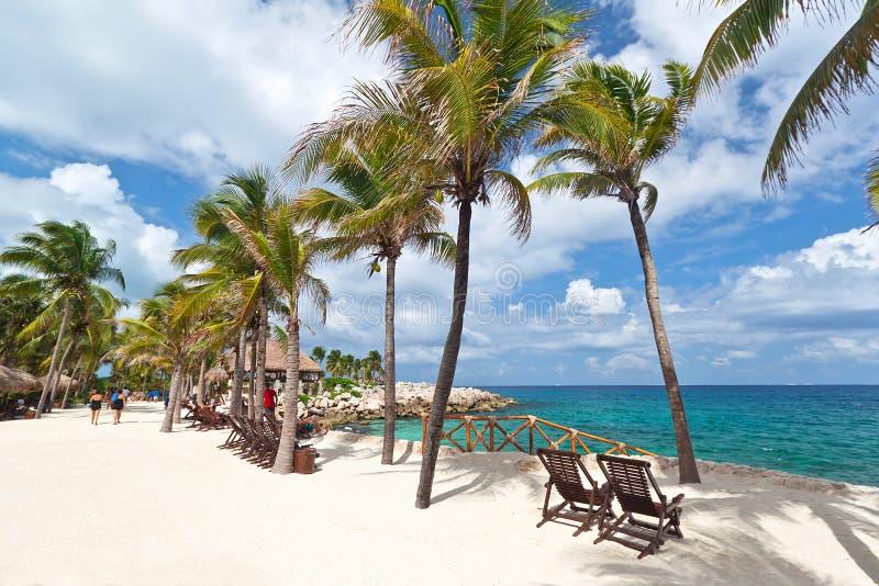 Scenery of Caribbean sea