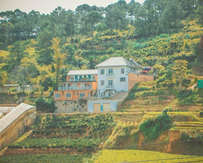 Scenery in Dalat Vietnam. Dalat resortn stock images