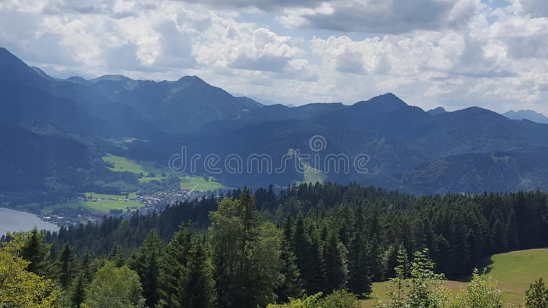 Scenery of germany stock images