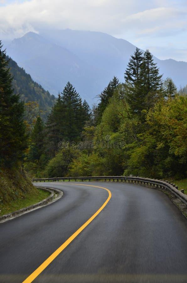 The scenery of Jiuzhaigou China. royalty free stock photos