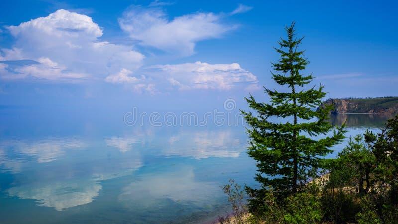 Scenery of the lake Baikal, Olkhon Island, Irkutsk, Siberian, Russia. beautiful views. Scenery of the lake Baikal, Olkhon Island, Irkutsk, Siberian, Russia stock image