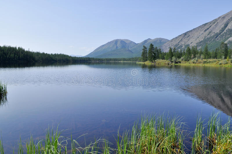 Download Scenery Of Lake And Reflections Of  Mountains Stock Image - Image: 38933463