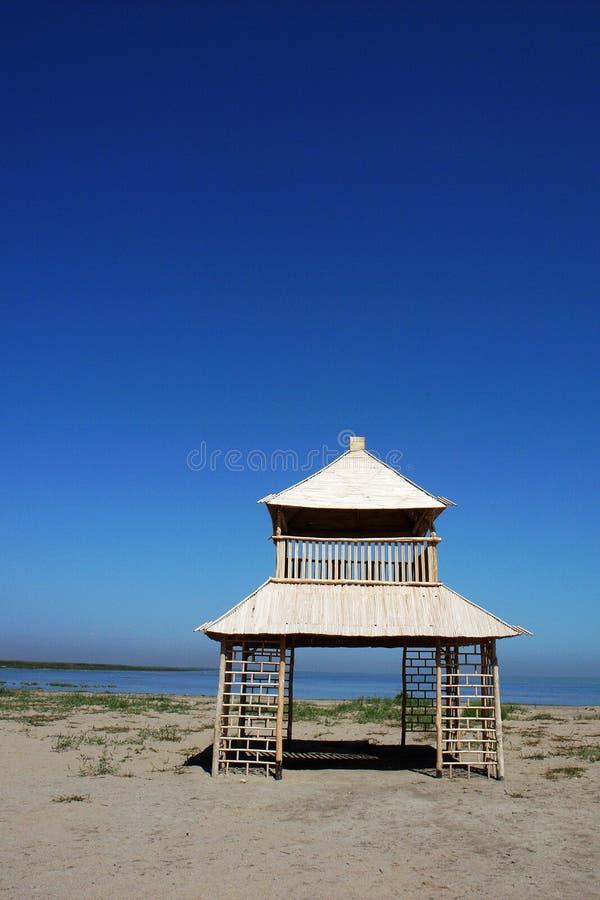 Scenery at lakeside royalty free stock photo