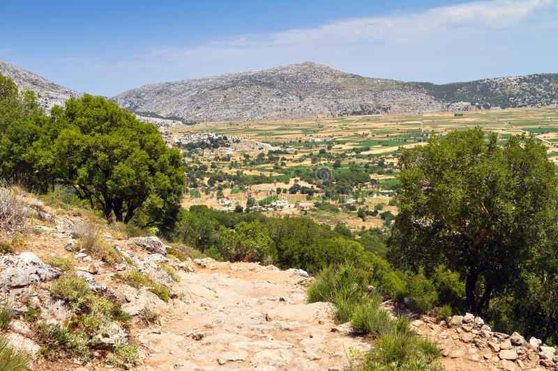 Download Scenery Of Lasithi Plateau On Crete Royalty Free Stock Images - Image: 28635079
