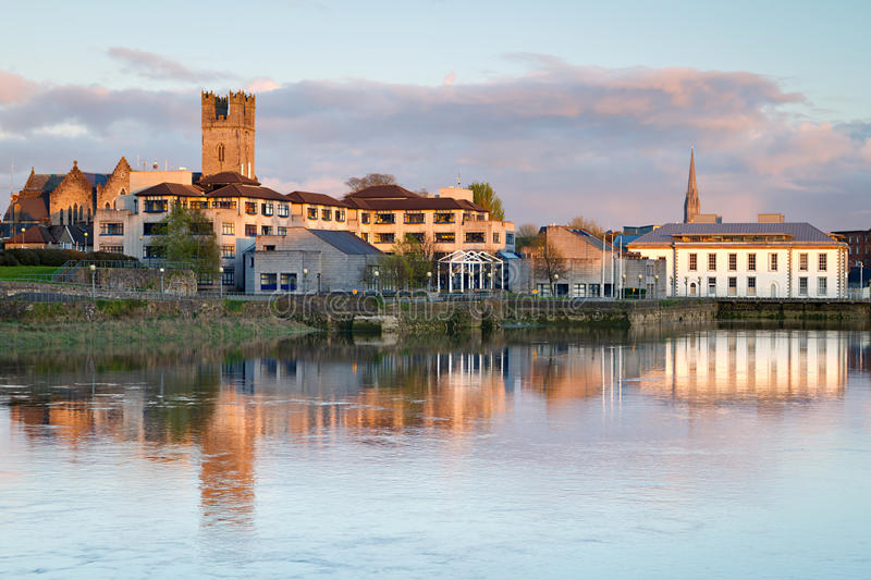 Download Scenery in Limerick city stock image. Image of ruins - 24528349