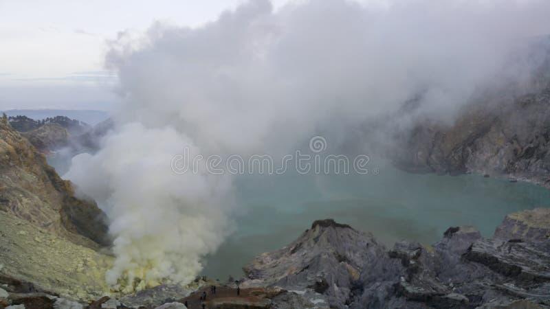 Scenery Mount Ijen royalty free stock images