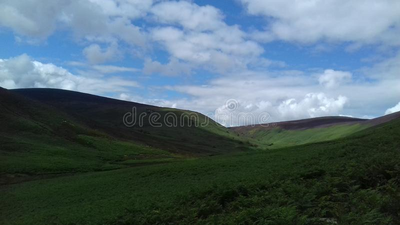 Scenery mountains royalty free stock photo