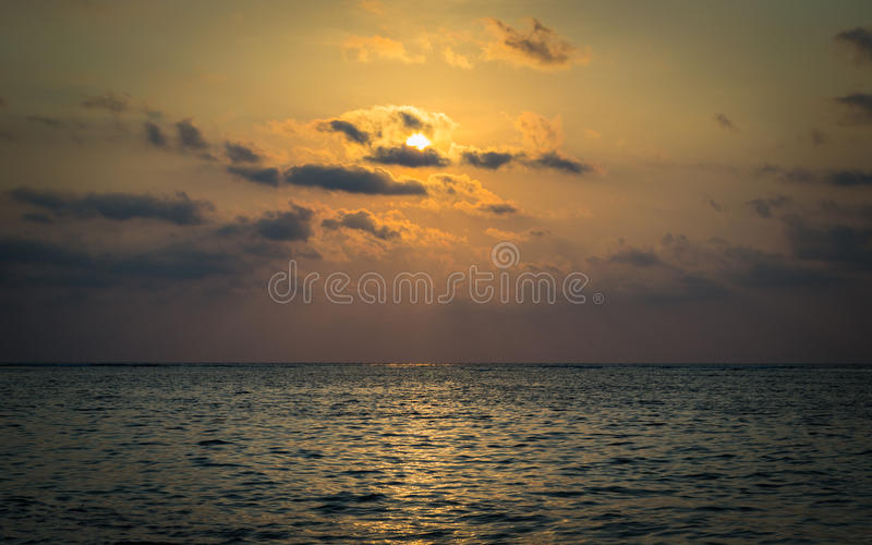 Download Scenery Of The Sea Under Sunbeam Stock Photo - Image of calm, warm: 39510764