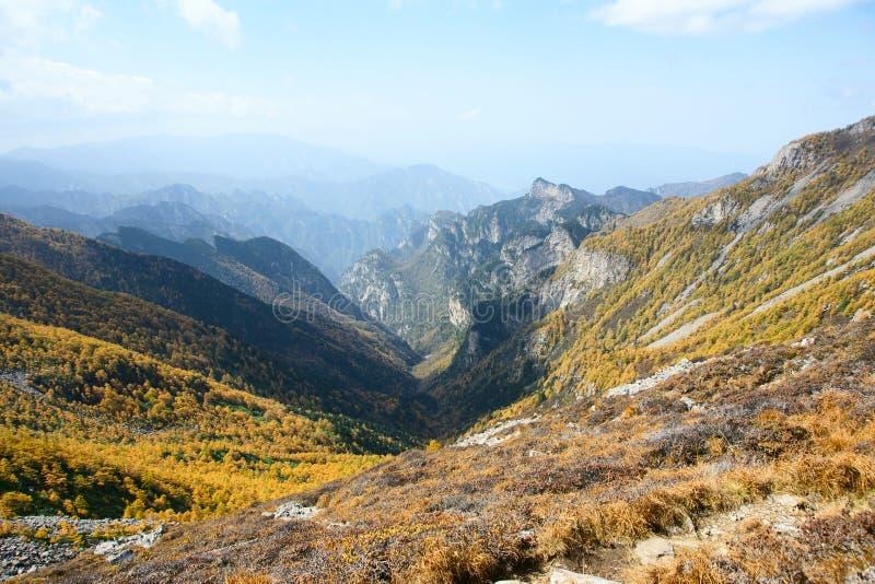 Scenery of Taibai Mountain