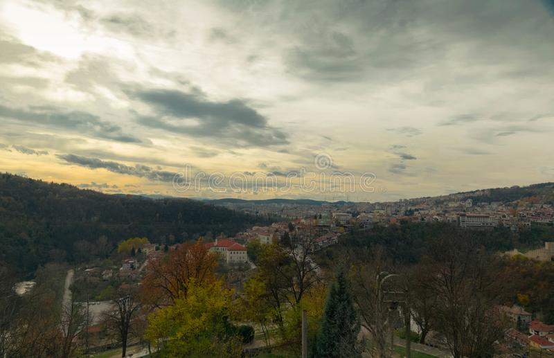 When in Veliko Tarnovo in Bulgaria royalty free stock images