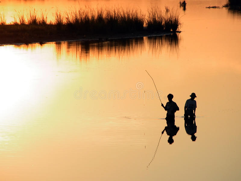 Scenery of Ubein Bridge. In Mandalay Myanmar. The scenes are absolutely fabulous royalty free stock images
