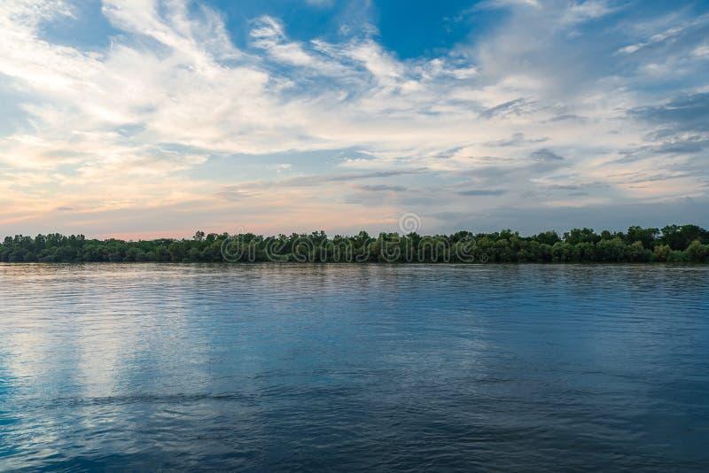 Danube Delta Vegetation and wildlife stock photo