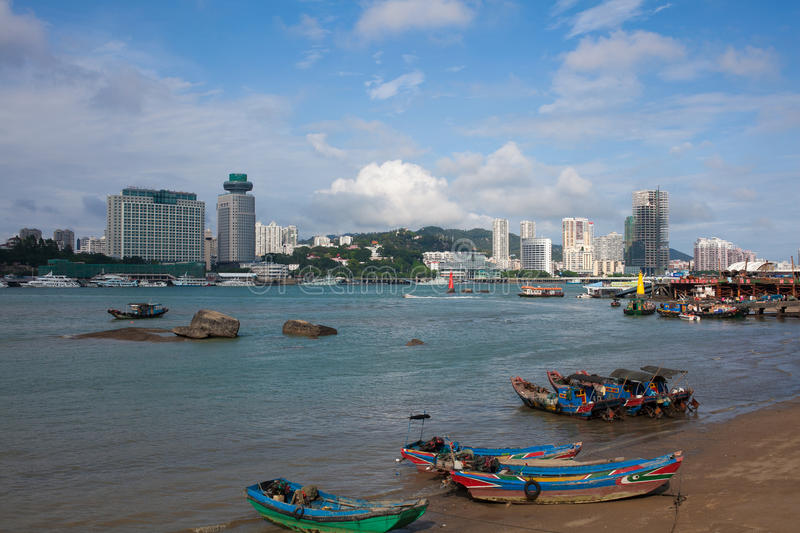 The scenery of Xiamen. The beautiful scenery in xiamen. I take the photo on the Gulangyu royalty free stock images