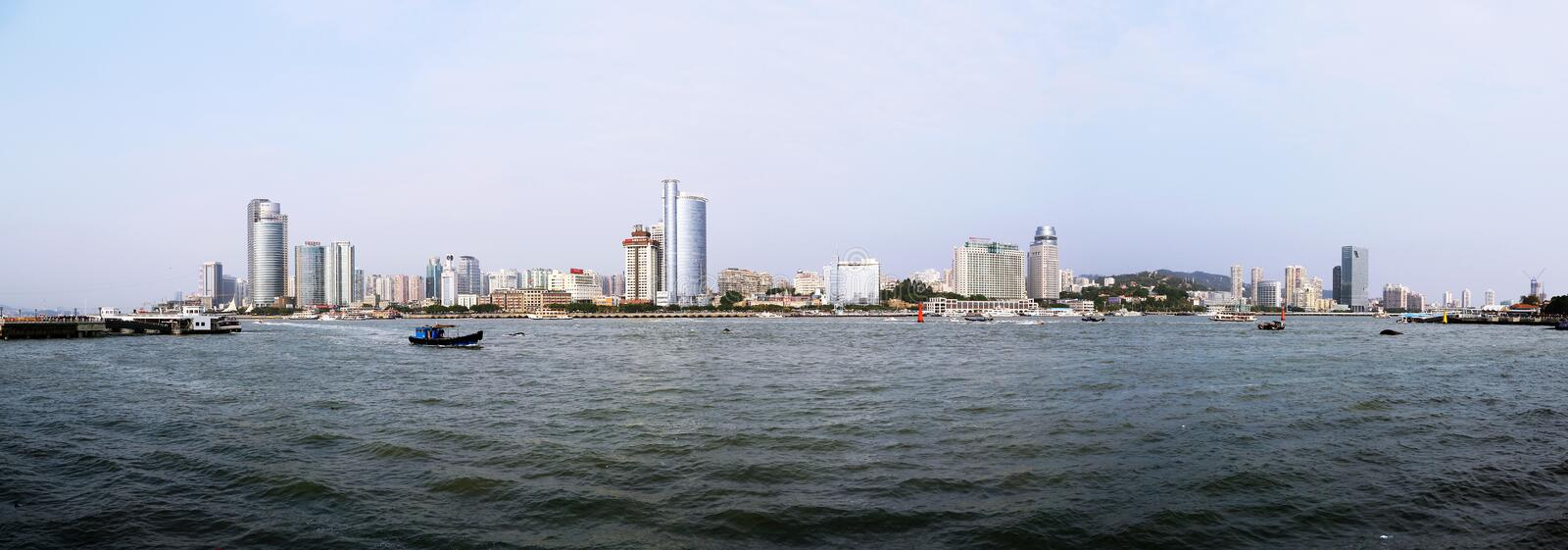 The scenery of Xiamen. China stock photos