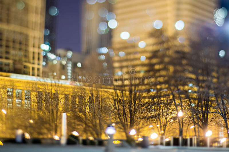Scenes around city of CHicago Illinois at night. Scenes around city of CHicago Illinois stock photos