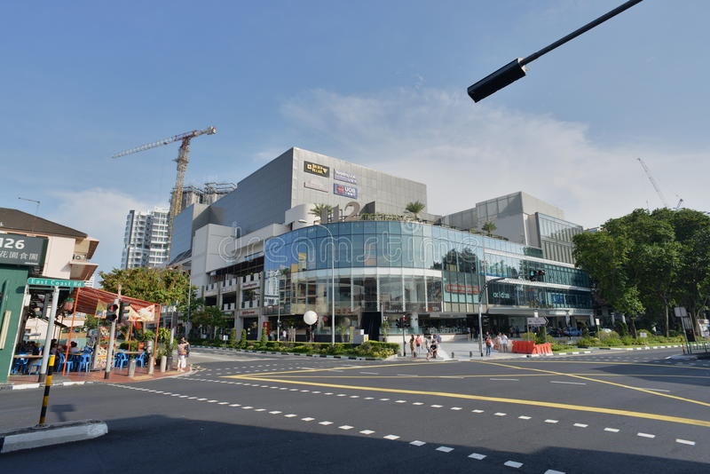 Scenes around Singapore - Katong stock photo