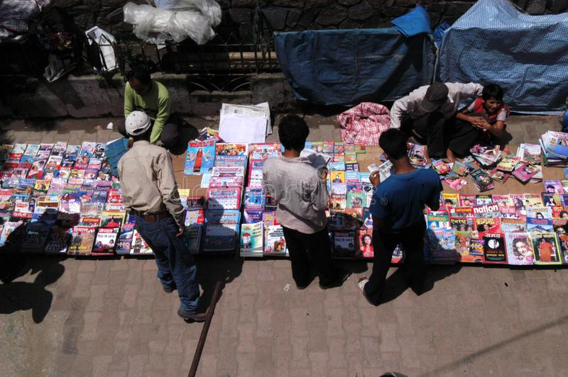 Nepal. kathmandu center city royalty free stock images