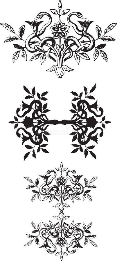 Scenetta del serpente royalty illustrazione gratis