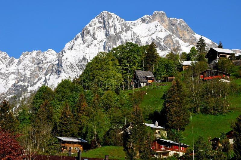 Scenic Alps stock images