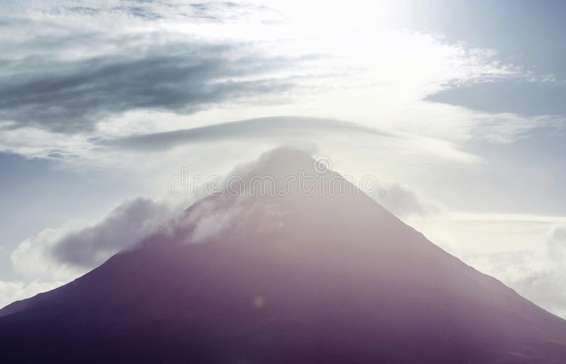 Download Arenal volcano stock image. Image of lava, natural, national - 109450333
