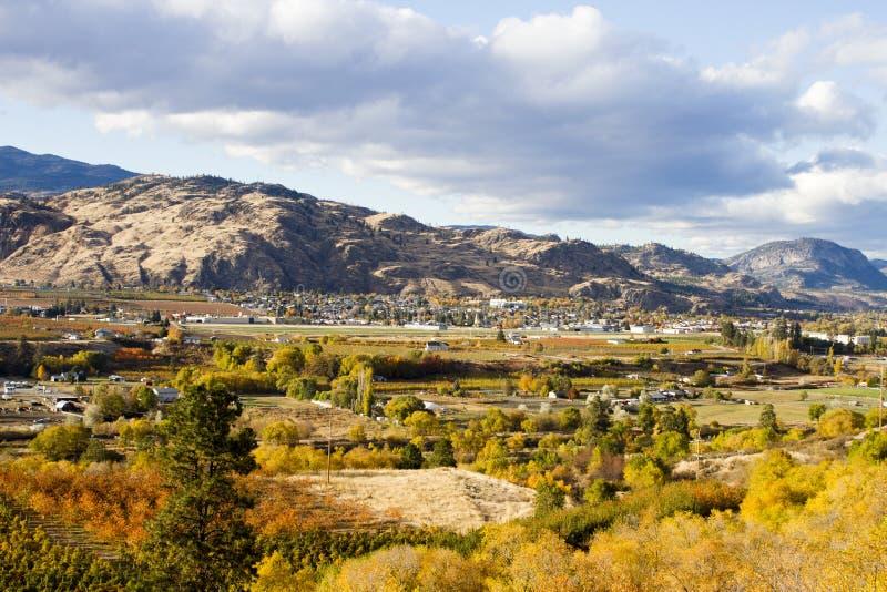 Oliver Okanagan Valley British Columbia stock photos