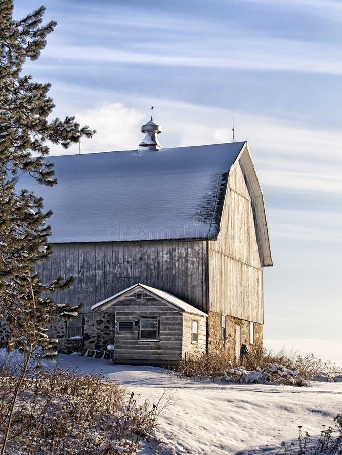 Scenic barn landscape royalty free stock photo