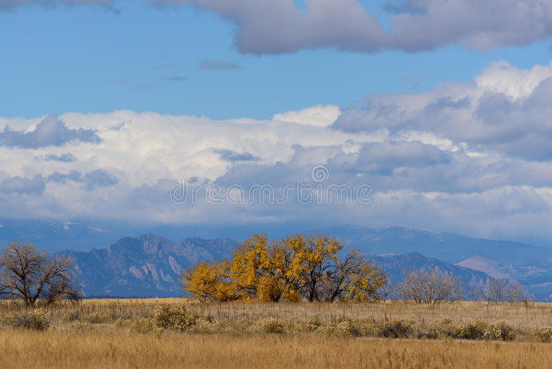 The Scenic Beauty of the Colorado Rocky Mountains royalty free stock image