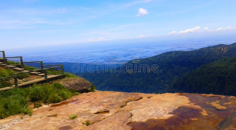 Scenic beauty of Shillong, meghalaya, hill station in Northeast, india royalty free stock photos