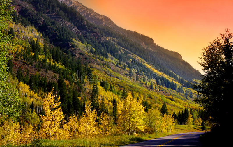 Scenic Colorado stock image