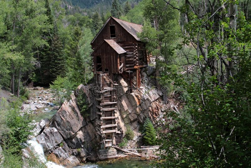 Crystal Mill near Marble, Colorado royalty free stock photos