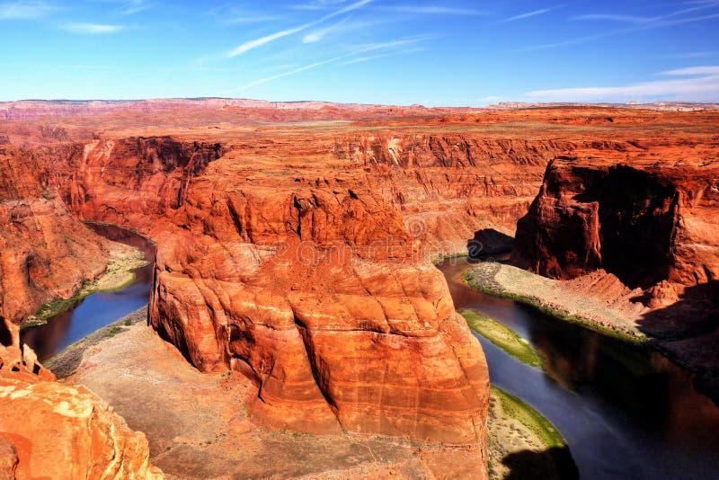 US National Parks, Arizona, Grand Canyon National Park. Scenic deep canyon and Colorado River, Grand Canyon National Park. Natural attraction in Arizona. U.S royalty free stock photo