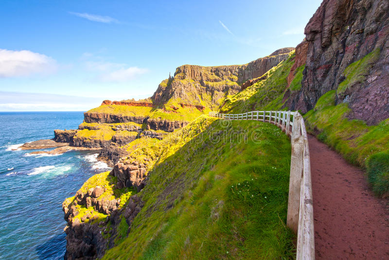 Scenic Footpath stock image
