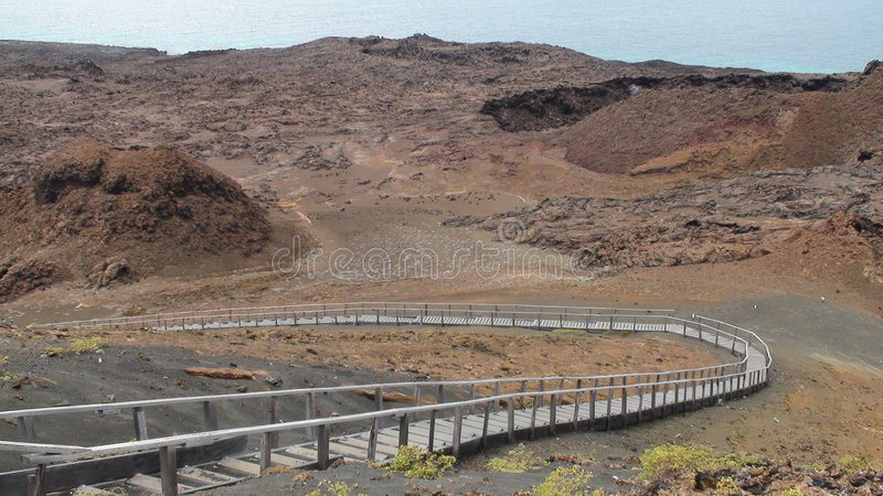 Download Scenic Galapagos Boardwalk stock photo. Image of board - 7430094