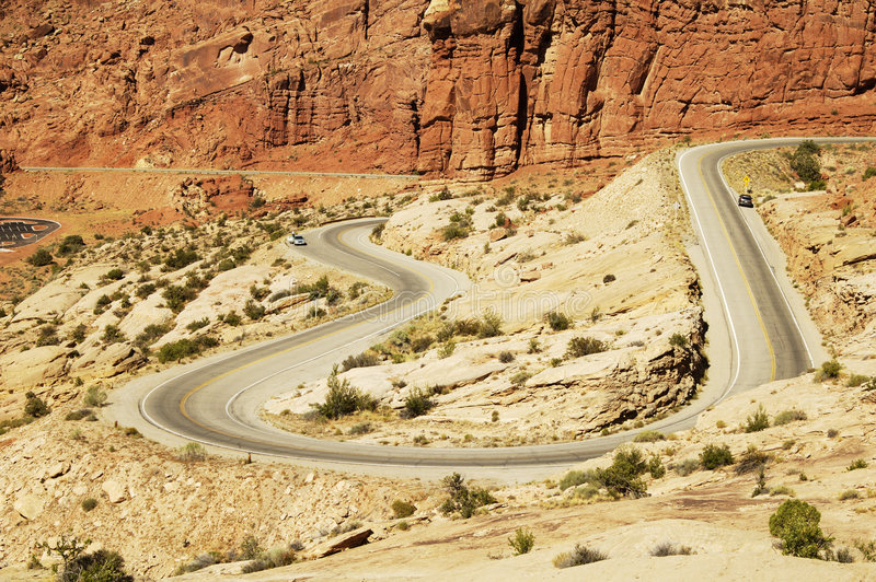 Scenic Highway stock images