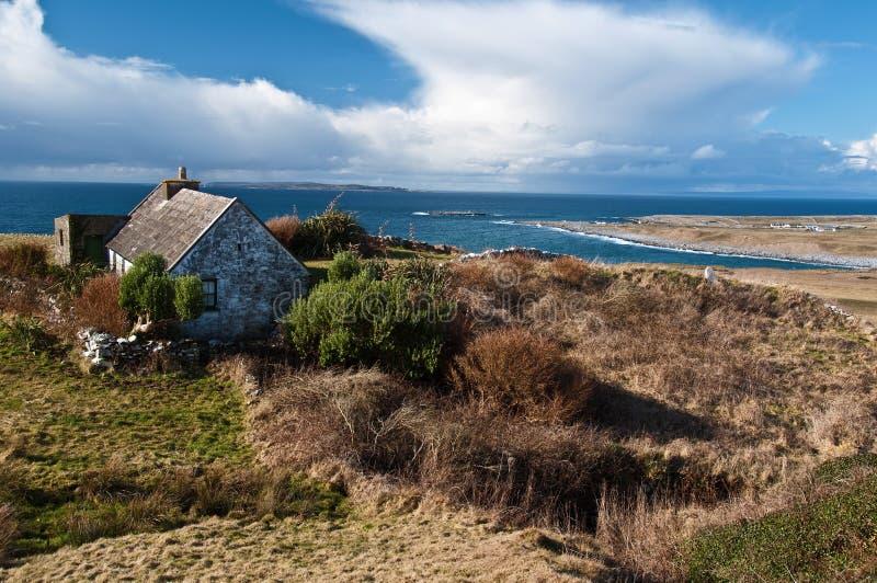 Download Scenic Irish Landscape With Old Irish Cottage Stock Image - Image: 13453995