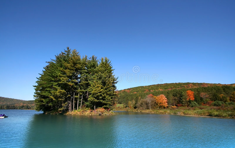 Download Scenic Lake stock photo. Image of reflection, water, landscape - 6762548
