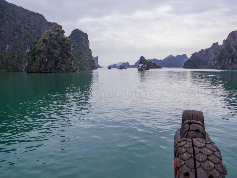 Halong Bay, Vietnam. Scenic landscape in Halong Bay, Vietnam stock photos